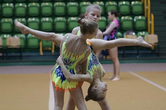 W Inowrocławiu odbyły się Międzywojewódzkie Mistrzostwa Młodzików w Akrobatyce Sportowej
