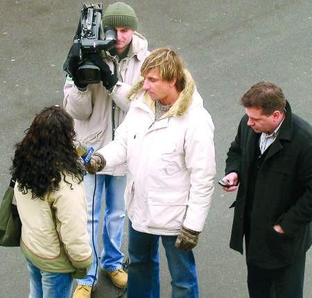 Ogólnopolskie telewizje przyjeżdżają do Człuchowa tylko od wielkiego dzwonu. fot. piotr furtak
