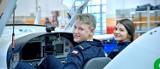 Chełm. Przyszli piloci egzaminy teoretyczne będą zdawać w Centrum Lotniczym chełmskiej PWSZ. Zobacz zdjęcia