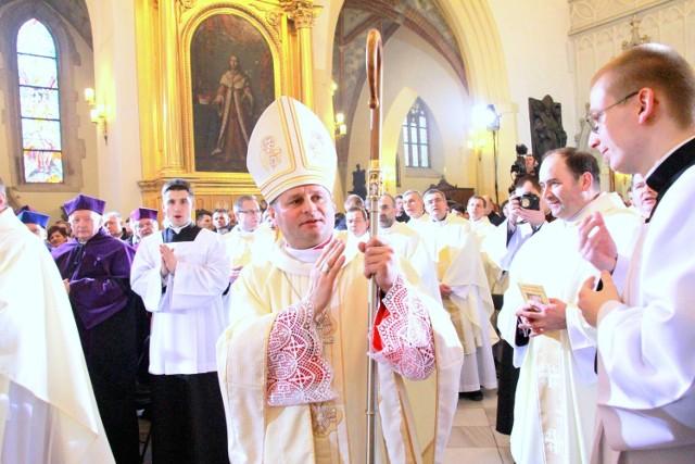 Biskup Leszek Leszkiewicz