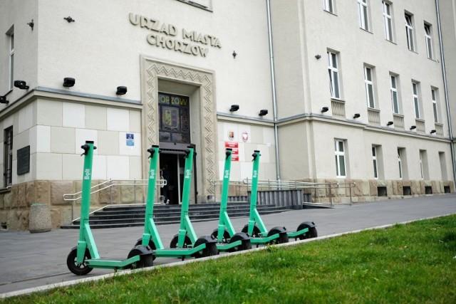 W Chorzowie można jeździć na elektrycznych hulajnogach