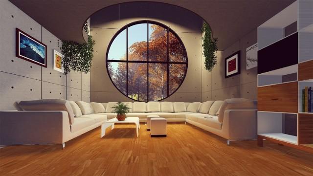 Ten apartament z przepięknym oknem nie jest z Katowic. Za to na kolejnych zdjęciach znajdziecie już aktualne oferty luksusowych i drogich mieszkań w tym mieście. Ułożyliśmy je od najtańszego do najdroższego, biorąc pod uwagę cenę metra kwadratowego.
