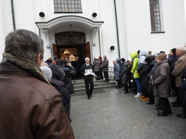 Pogrzeb księdza Wojciecha  Wasaka w Bielsku Podlaskim