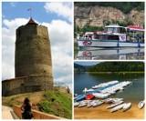 Sądecczyzna Najciekawsze miejsca i atrakcje nad Jeziorem Rożnowskim. Gdzie warto jechać? [ZDJĘCIA]