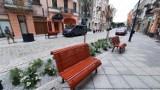 Ulica Śródmiejska i Zamkowa w Kaliszu z nowymi meblami miejskimi. Jak Wam się podobają? ZDJĘCIA