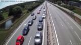 Wypadek z udziałem 3 aut na obwodnicy Trójmiasta! 18.07.2021 r. 2 osoby poszkodowane i utrudnienia
