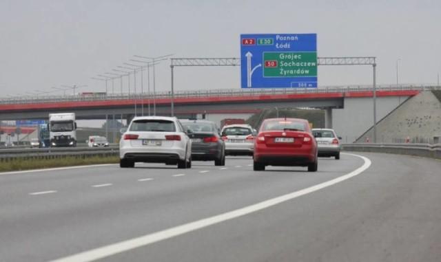 Autostrada A2. Umowa na poszerzenie autostrady podpisana. Między Łodzią a Warszawą ma powstać trzeci pas