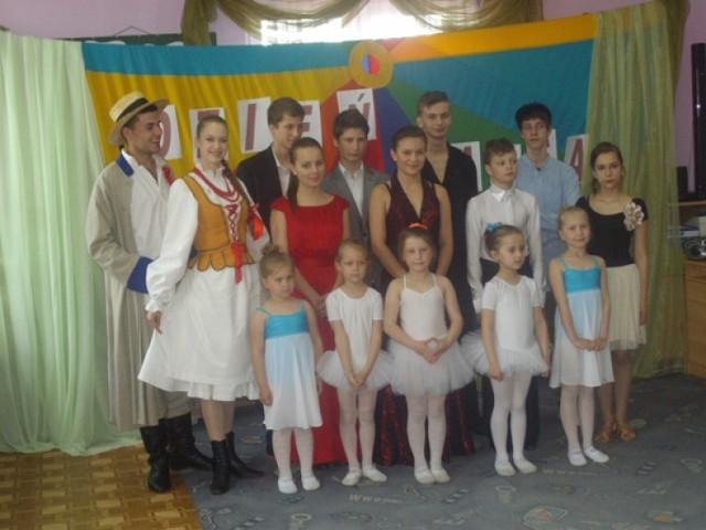 Pokaz taneczny w Przedszkolu Publicznym nr 3 w Kolbuszowej