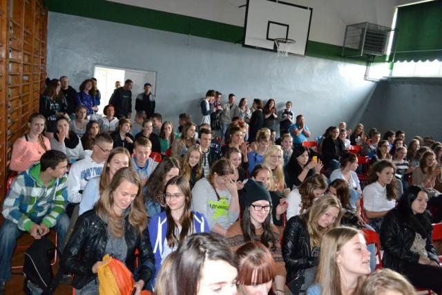Konkurs szkolnej Eurowizji w Gimnazjum nr 1 w Człuchowie