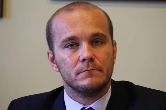 Maciej Kamiński, przewodniczący Rady Miejskiej w Przemyślu.