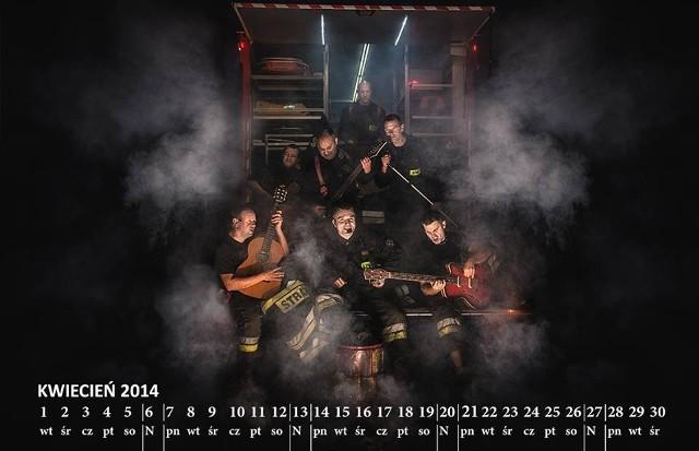 Kalendarz strażacki 2014