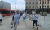 Przebudowa centrum Katowic: plac Teatralny prawie gotowy ZDJĘCIA