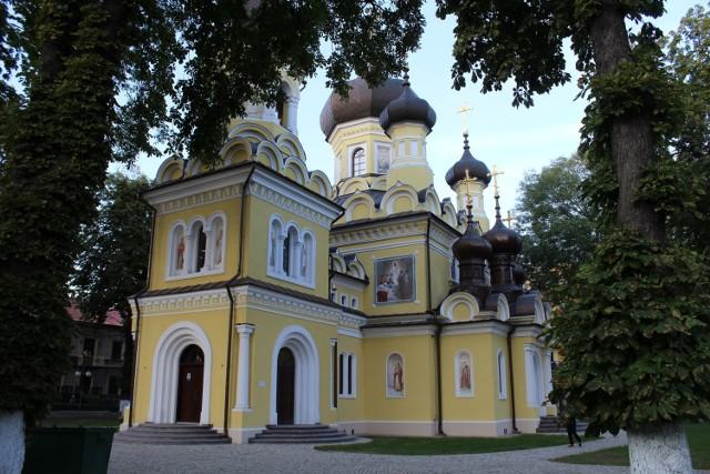 Cerkiew w Hrubieszowie. Dzięki nowym ścieżkom rowerowym, także dojazd do tej świątyni byłby zapewne łatwiejszy