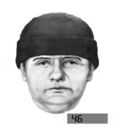 Oszust poszukiwany przez policję. Portret pamięciowy