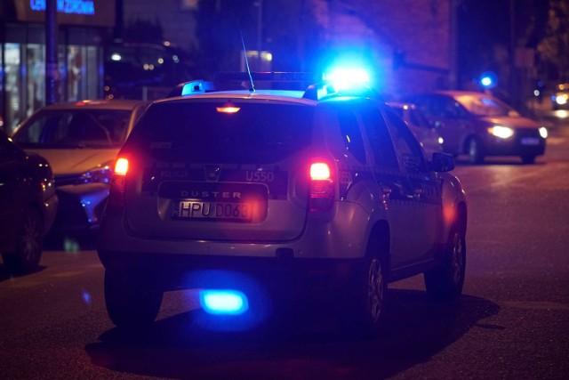 Akcja policji w Sierakowie.