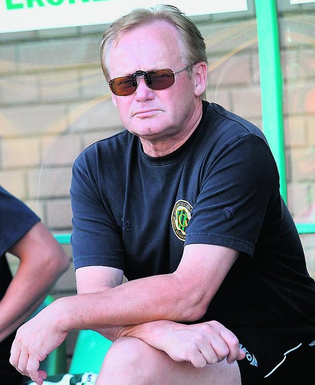 Trener Mirosław Jabłoński liczy na wyjazdowe zwycięstwo