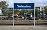 Przy dworcu w Goleniowie powstaje nowy parking, wkrótce położą asfalt