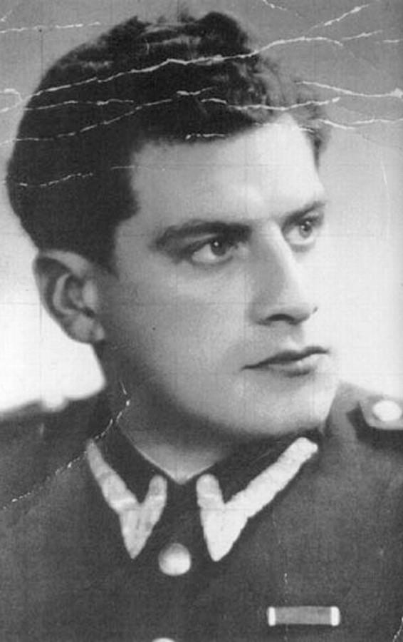 Salomon Morel, komendant obozu na Zgodzie.