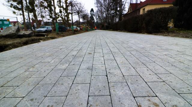 Przebudowa ulicy Kochanowskiego w Brzegu.