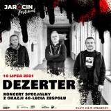 Specjalny koncert Dezertera z okazji 40-lecia zespołu odbędzie się na Jarocin Festiwal