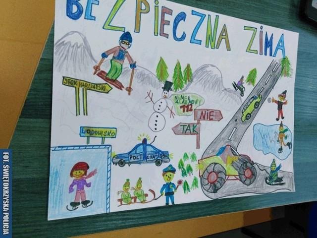 Pierwsze miejsce zajęła praca Mateusza Rogoziński ze Szkoły Podstawowej nr 2 w Skarżysku-Kamiennej