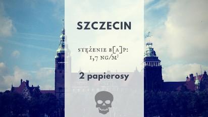 Smog w Polsce jak palenie papierosów. Zobacz, gdzie spalasz paczkę papierosów... oddychając.