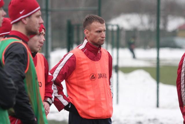 Tomasz Parzy był już na kilku treningach Chojniczanki
