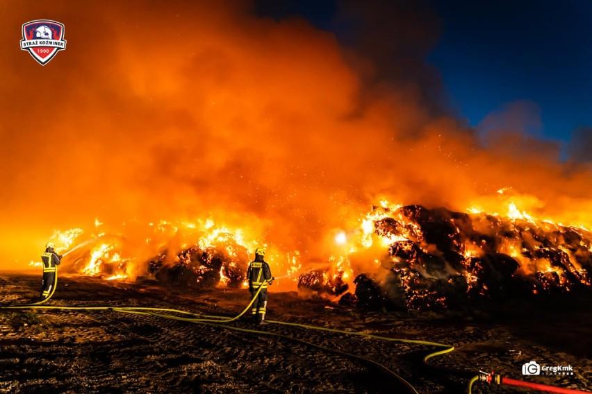 Tak wyglądało gaszenie ogromnego pożaru w Nowym Karolewie. ZDJĘCIA