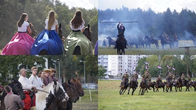 Kawalerzyści z 10 Pułku Ułanów Litewskich pokazali co potrafią.