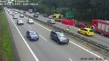 Wypadek na obwodnicy Trójmiasta! 18.09.2021 r. Zderzenie samochodu osobowego i motocykla. Ranny motocyklista trafił do szpitala