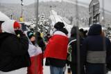 Skoki w Zakopanem 14.02.2021 r. Galeria z Pucharu Świata w Zakopanem. Zdjęcia z okolic skoczni i kibiców na ulicach miasta [galeria]