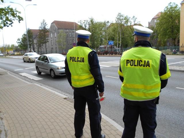 Podczas akcji policjanci z Grudziądza skontrolowali ponad 100 kierowców samochodów