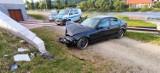 Krościenko nad Dunajcem. 19-latek chciał się popisać i rozbił BMW. Są poszkodowani