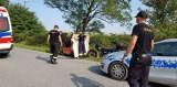 Wypadek motocyklisty w Świętym Marku. Czy był pod wpływem alkoholu?