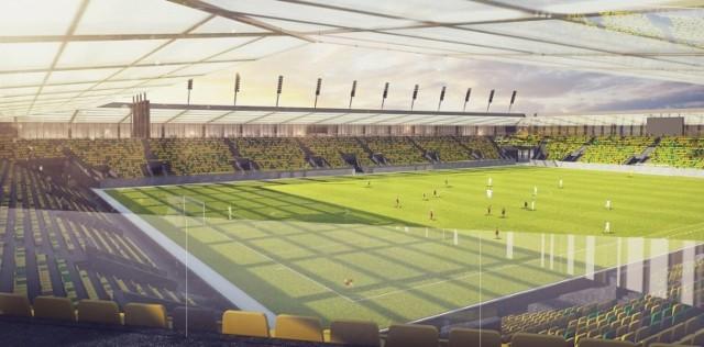 Tak według koncepcji ma wyglądać stadion GKS Katowice