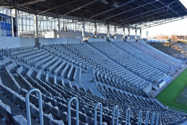 Stadion Pogoni - stan 30 grudnia 2020.