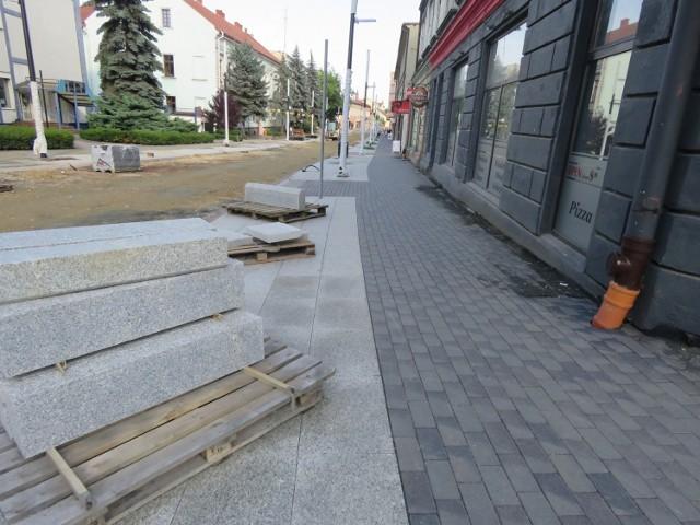 Lipiec 2021. Remont ulicy Lwowskiej