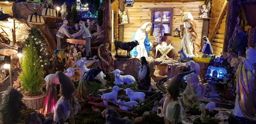 ŚWIĘTA: Przepiękna ruchoma i żywa szopka w Sanktuarium Matki Bożej Pocieszenia w Lutogniewie [ZDJĘCIA]