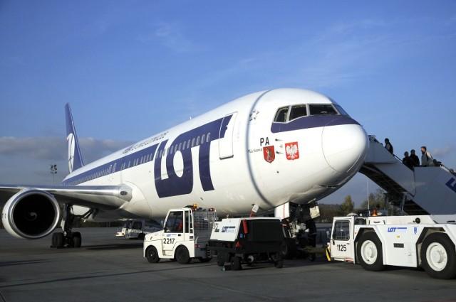 Samoloty LOT-u pojawia się na naszym lotnisku ponownie - od września (zdjęcie poglądowe).