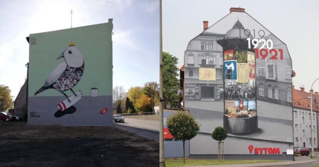 Najpiękniejsze murale w Bytomiu. Oto nasz TOP10. Zobacz je >>>