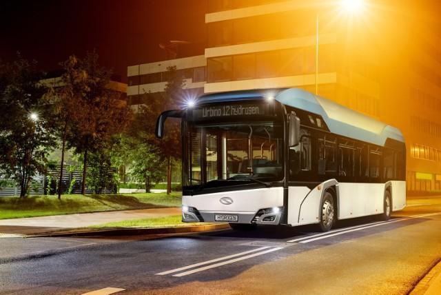 Solaris Bus& Coach ma w ofercie autobusy napędzane wodorem. Pierwszy taki autobus w Polsce wyjedzie na ulice Konina.