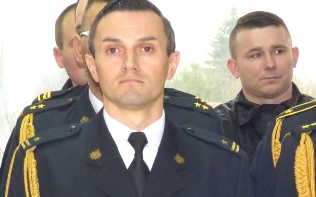 Młodszy brygadier Artur Brachowicz pełni obowiązki buskiego komendanta powiatowego Państwowej Straży Pożarnej.