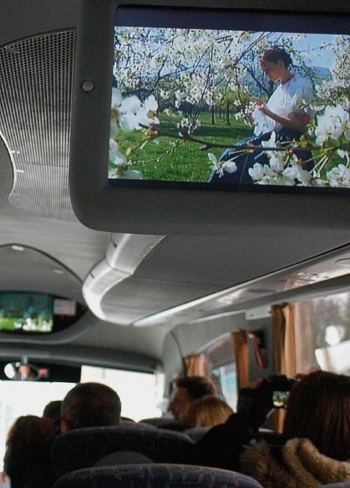 Beskidzką 5 można oglądać np. w autobusie rejsowym