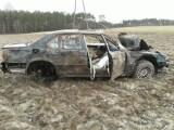 """Dachowanie na """"berlince"""". To trzeci wypadek w ciągu dwóch dni na drodze krajowej 22 między Chojnicami a Czerskiem"""