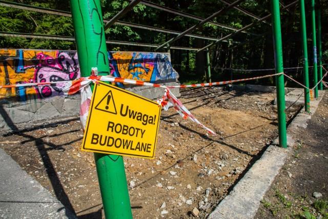 Teren dawnej skoczni w Cygańskim Lesie zostanie uporządkowany