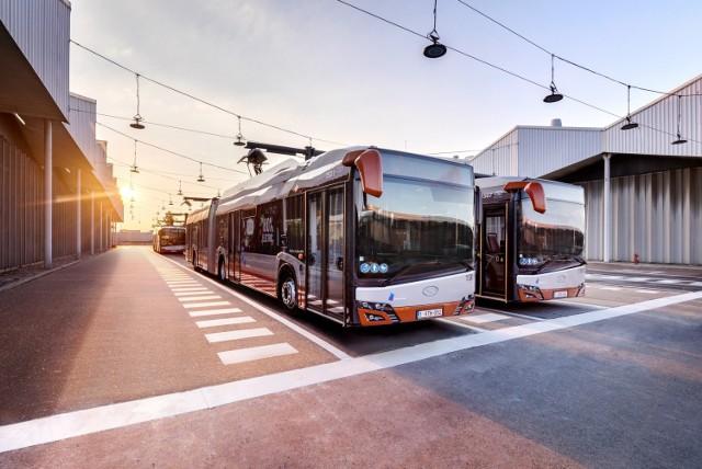 Autobusy elektryczne Solarisy Urbino