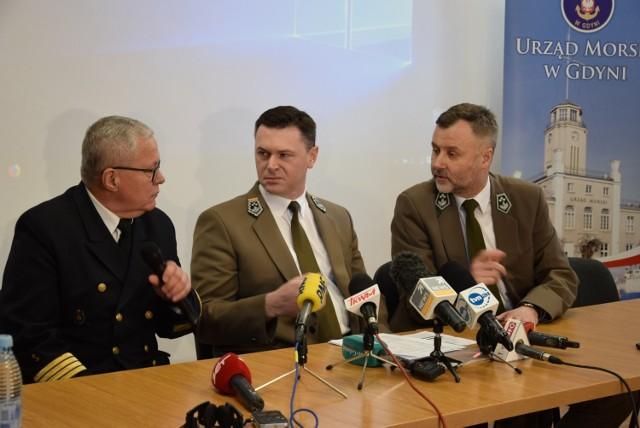 Konferencja w Urzędzie Morskim, 18.02.
