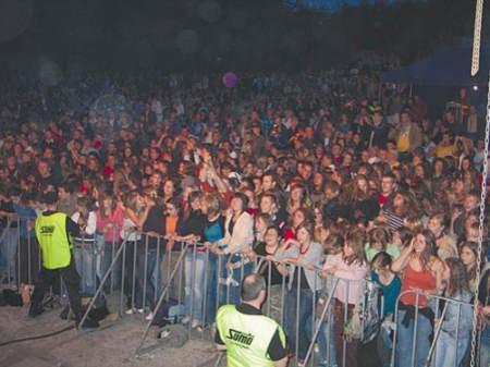 Koncert miał w Czeladzi ogromną widownię.