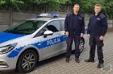 Policjanci uratowali życie 48-latkowi z Opola, który chciał skoczyć z drugiego piętra