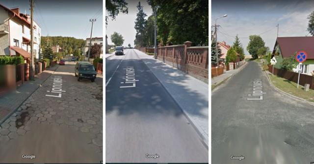 W Polsce jest 18 ulic o nazwie Lipnowska.